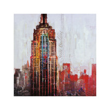 The City That Never Sleeps I Giclee Print by Markus Haub