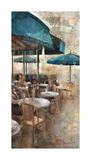 Terraza Café Les Deux Magots Giclee Print by Noemi Martin