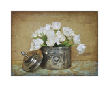 Vintage Tulips II Giclée-tryk af Cristin Atria