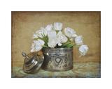 Vintage Tulips II Giclée-Druck von Cristin Atria