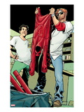 Daredevil: Reborn No.4: Matt Murdock, Froggy Nelson Art by Davide Gianfelice