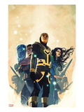 Journey Into Mystery No.628 Cover: Loki and Others Posters by Stephanie Hans