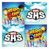 Marvel Super Hero Squad: Hero Up! Iron Man, Spider-Man, Hulk, Thor, Wolverine, and Captain America Prints