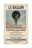 Le Ballon, Paris Prints