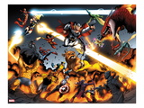 Avengers vs. Pet Avengers 3: Ms. Marvel, Luke Cage, Spider Woman, Steve Rogers, and Mockingbird Prints by Ig Guara