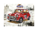 British Car Giclee Print by Bresso Solá