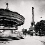 Merry Go Round, Study 1, Paris, France Art by Marcin Stawiarz