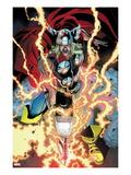 Thor: First Thunder No.1: Thor Smashing Affiches par Tan Eng Huat