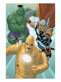 Avengers: The Origin No.5: Iron Man, Thor, Hulk, Wasp, Ant-Man Print by Phil Noto