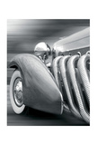Duesenberg in Motion Art by Richard James