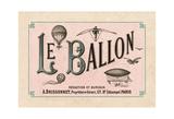 Le Ballon, ca. 1883 Posters
