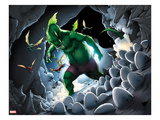 Avengers vs. Pet Avengers No.3: Fin Fang Foom Standing Poster by Ig Guara
