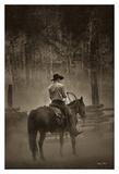 Lost Canyon Cowboy Plakat af Barry Hart