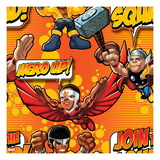 Marvel Super Hero Squad: Hero Up! Join the Squad!  Luke Cage, Falcon, and Thor Posing Posters