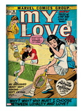 Marvel Comics Retro: My Love No.16 Cover: Sitting Posters