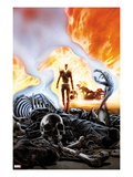 Ghost Rider #6 Cover Poster por Ron Garney
