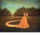 Unwinding the Path to Self-Discovery Kunstdrucke von Duy Huynh