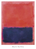 Untitled, 1960-61 Lámina por Mark Rothko
