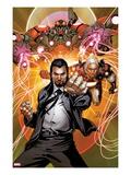 Invincible Iron Man No.511 Cover: Mandarin Posing Poster by Salvador Larroca