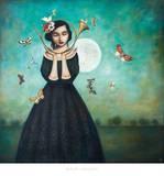 Evening Echoes Plakat av Duy Huynh