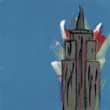 Empire State Building Plakat af Brian Nash