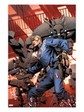 Steve Rogers: Super-Soldier No.3 Cover: Captain America Standing Posters by Carlos Pacheco