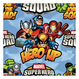 Marvel Super Hero Squad: Hero Up! Thor, Captain America, Iron Man, Wolverine, Wasp, and Ant-Man Poster