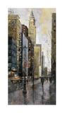 Rainy Day in Manhattan Giclee Print by Marti Bofarull