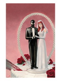 The Amazing Spider-Man 639 Cover: Spider-Man and Mary Jane Watson Prints by Paolo Rivera