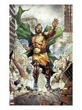 Chaos War No.1: Hercules Running Posters by Khoi Pham