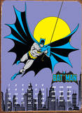 Gotham City Calendar Tin Sign