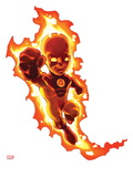 Marvel Super Hero Squad: Human Torch Flaming Art