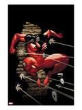 Scarlet Spider No.4: Scarlet Spider Jumping Prints by Ryan Stegman