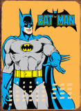 Batman Pose Blechschild