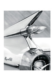 White Cadillac Affiches par Richard James