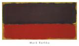 No. 13, 1951 Poster par Mark Rothko