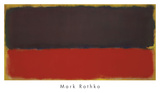 No. 13, 1951 Plakat av Mark Rothko