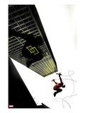 Daredevil: Reborn No.4 Cover: Daredevil Jumping from Buildings Poster von  Jock
