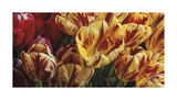 Floral Tapestry Giclee Print by Janel Pahl