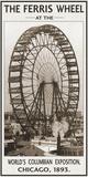 The Ferris Wheel, 1893 Kunstdrucke