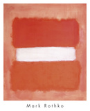White Center, 1957 Posters by Mark Rothko
