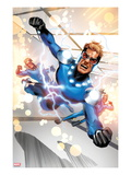 Fear Itself: The Home Front No.7: Speedball Flying Prints by Mike Mayhew