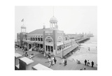 Atlantic City Steel Pier, 1910s Print by  Vintage Photography