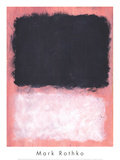 Untitled, 1967 Affischer av Mark Rothko