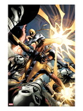 Power Man and Iron First 1: Iron Fist and Power Man Fighting Prints by Wellinton Alves