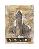 New York Giclee Print by Marta G. Wiley