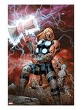 Ultimate Thor No.1 Cover: Thor Posing Affiches par Carlos Pacheco