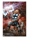 Ultimate Thor 1 Cover: Thor Posing Prints by Carlos Pacheco
