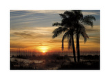 Ana Maria Sunset Giclee Print by Mike Jones