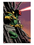 Marvel Adventures Super Heroes 8 Cover: Vision Running Posters par Clayton Henry